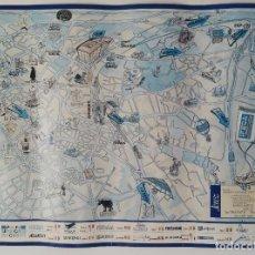 Carteles Feria: PÓSTER MAPA DE JEREZ - IFECA ´92 - EDICIÓN LIMITADA A 3000 EJEMPLARES. Lote 86631416