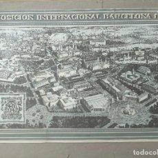 Carteles Feria: CARTEL EXPOSICIÓN INTERNACIONAL BARCELONA 1929. Lote 87445316
