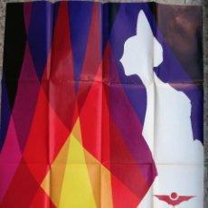 Carteles Feria: CARTEL PUBLICIDAD FALLAS DE VALENCIA , 1976 , ORIGINAL . Lote 91385075