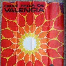 Carteles Feria: CARTEL PUBLICIDAD FERIA DE JULIO DE VALENCIA , 1974 , ORIGINAL. Lote 91385410
