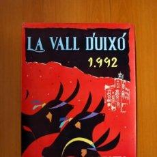 Carteles Feria: LES PENYES EN FESTES, VALL DE UXÓ 1992 - IBIZA DISCO ESPAÑA - CARTEL TAMAÑO 96X60. Lote 91470695