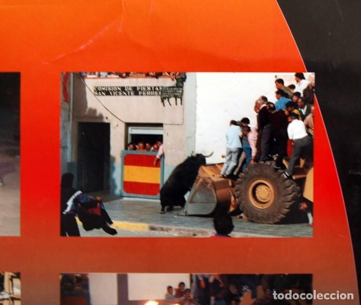 Carteles Feria: Festes Patronals Sant Vicent Ferrer 99, Vall de Uxó 1999 - Cartel tamaño 96x67 - Foto 7 - 91474230