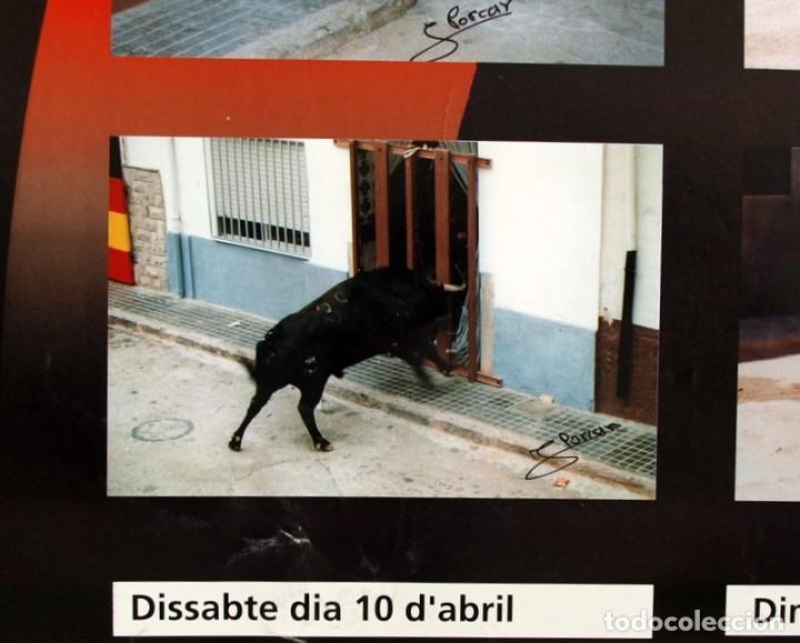 Carteles Feria: Festes Patronals Sant Vicent Ferrer 99, Vall de Uxó 1999 - Cartel tamaño 96x67 - Foto 8 - 91474230