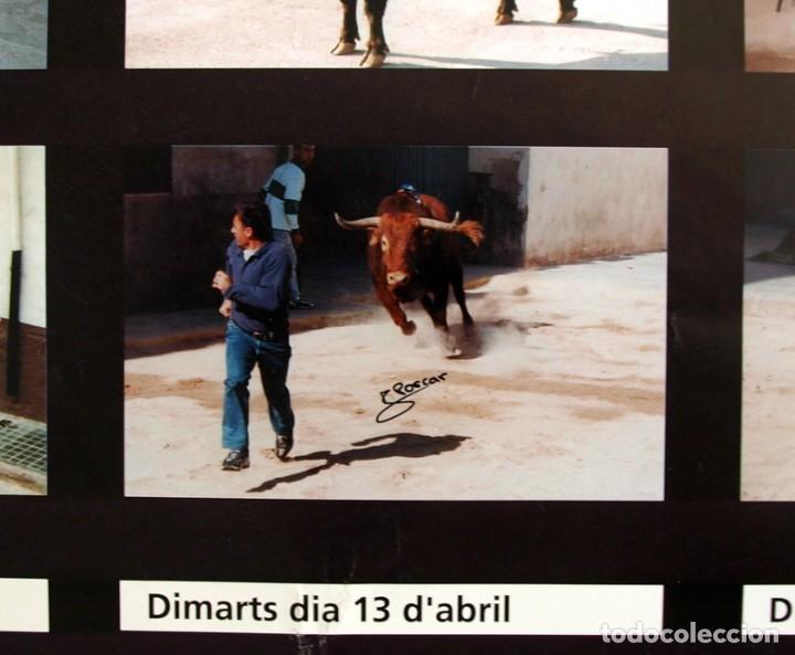 Carteles Feria: Festes Patronals Sant Vicent Ferrer 99, Vall de Uxó 1999 - Cartel tamaño 96x67 - Foto 9 - 91474230
