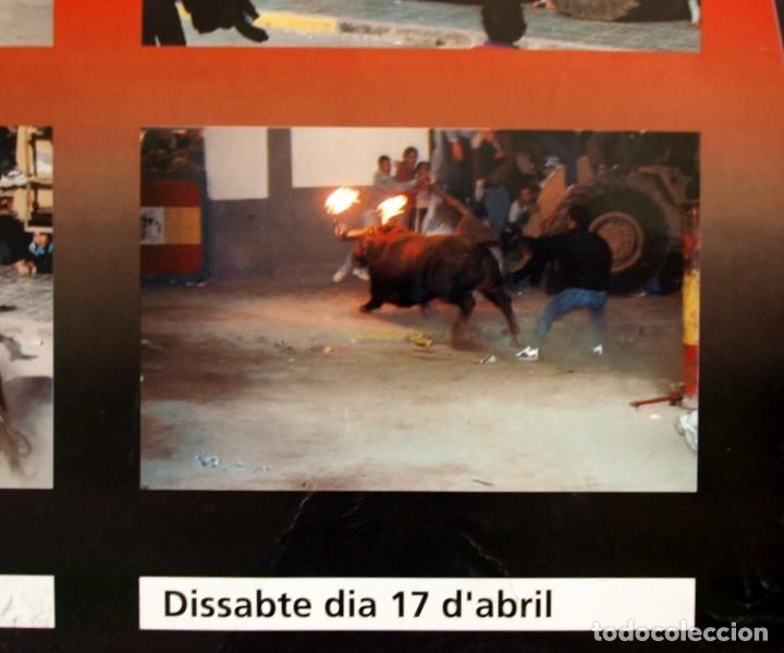 Carteles Feria: Festes Patronals Sant Vicent Ferrer 99, Vall de Uxó 1999 - Cartel tamaño 96x67 - Foto 11 - 91474230