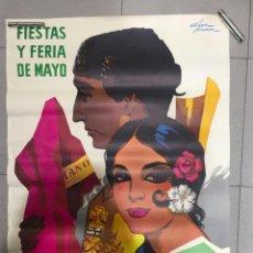 Carteles Feria: CARTEL FERIA DE CÓRDOBA AÑO 1968, MEDIDAS 100 X 70 CM, SIN ROTURAS. Lote 94784943