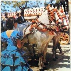 Carteles Feria: CARTEL FERIA DE ABRIL 1973. SEVILLA. 48X69 CMS. Lote 95520563