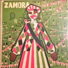 Carteles Feria: ZAMORA. ÚNICO CARTEL CONOCIDO FERIAS DE SETIEMBRE 1957. LUIS QUICO.. Lote 96270795