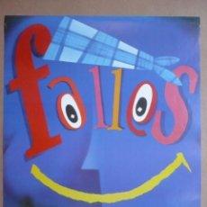 Affiches Foire: CARTEL FALLES DE VALÈNCIA 1997.- FALLAS - 68 X 48 CM.-. Lote 97268031