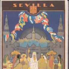 Carteles Feria: GUÍA COMPLETA EXPOSICIÓN IBEROAMERICANA 1930 , MAPA DE LA EXPOSICIÓN , IDIOMA ALEMÁN. Lote 99770639