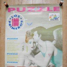 Carteles Feria: POSTER DISCOTECA PUZZLE JOVEN LOS 40 PRINCIPALES AÑOS 90 MEDIDAS 63X86 CM. Lote 99891015