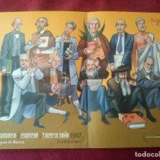 Carteles Feria: POSTER SEMANA DE LA CIENCIA Y LA TECNOLOGIA 2007 MURCIA / 30 X 40 CM. Lote 99993391