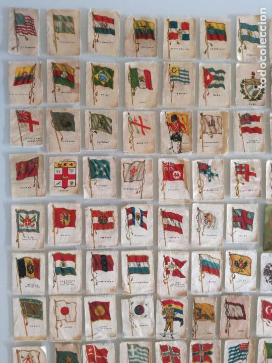 Carteles Feria: RARA COLECCION 157 CROMOS TELA - BANDERAS ANTIGUAS PAISES Y REINADOS - COMPAÑIA NACIONAL DE TABACOS - Foto 2 - 100585939
