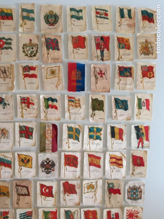Carteles Feria: RARA COLECCION 157 CROMOS TELA - BANDERAS ANTIGUAS PAISES Y REINADOS - COMPAÑIA NACIONAL DE TABACOS - Foto 3 - 100585939