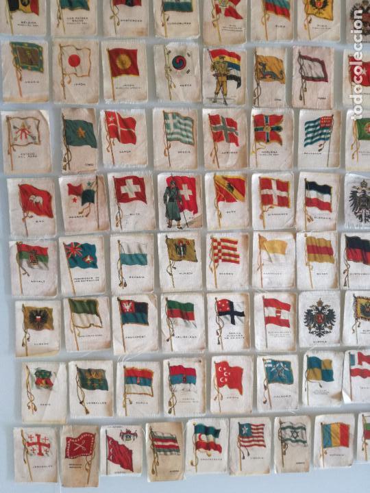 Carteles Feria: RARA COLECCION 157 CROMOS TELA - BANDERAS ANTIGUAS PAISES Y REINADOS - COMPAÑIA NACIONAL DE TABACOS - Foto 4 - 100585939