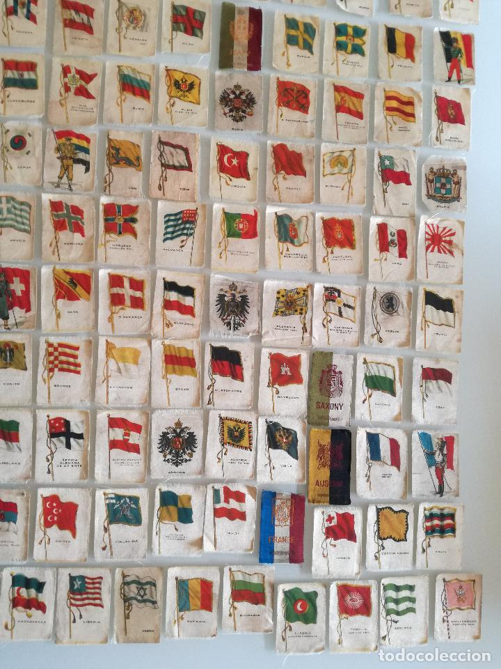 Carteles Feria: RARA COLECCION 157 CROMOS TELA - BANDERAS ANTIGUAS PAISES Y REINADOS - COMPAÑIA NACIONAL DE TABACOS - Foto 5 - 100585939