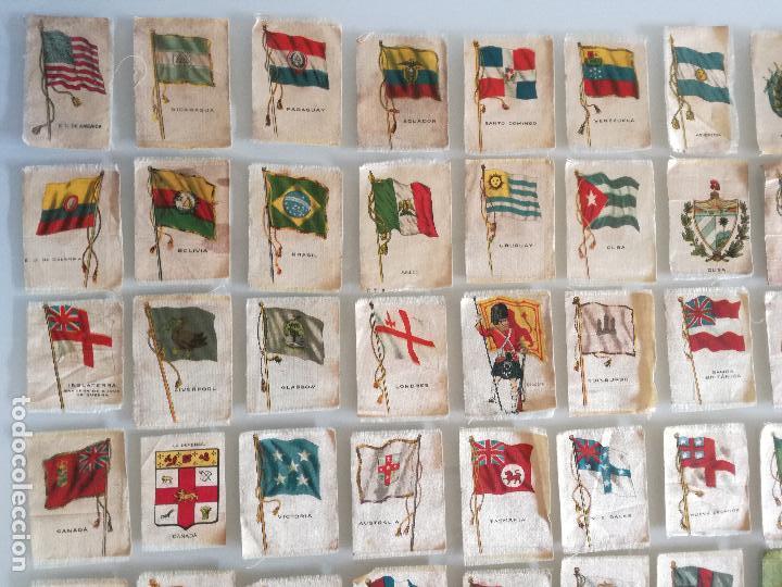 Carteles Feria: RARA COLECCION 157 CROMOS TELA - BANDERAS ANTIGUAS PAISES Y REINADOS - COMPAÑIA NACIONAL DE TABACOS - Foto 6 - 100585939