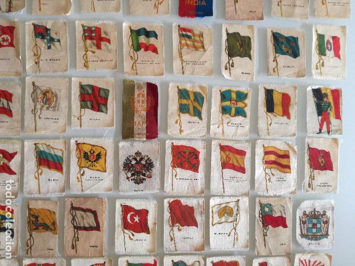 Carteles Feria: RARA COLECCION 157 CROMOS TELA - BANDERAS ANTIGUAS PAISES Y REINADOS - COMPAÑIA NACIONAL DE TABACOS - Foto 9 - 100585939