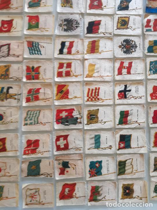 Carteles Feria: RARA COLECCION 157 CROMOS TELA - BANDERAS ANTIGUAS PAISES Y REINADOS - COMPAÑIA NACIONAL DE TABACOS - Foto 10 - 100585939