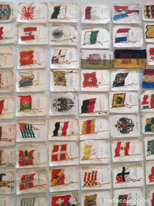 Carteles Feria: RARA COLECCION 157 CROMOS TELA - BANDERAS ANTIGUAS PAISES Y REINADOS - COMPAÑIA NACIONAL DE TABACOS - Foto 11 - 100585939