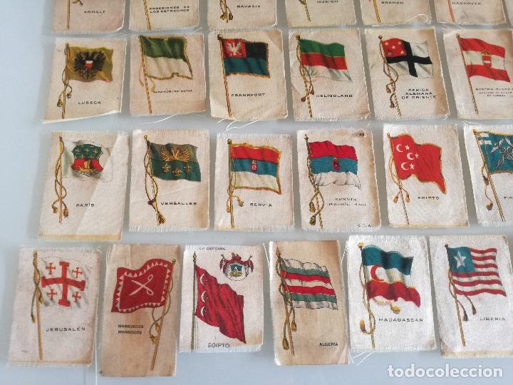 Carteles Feria: RARA COLECCION 157 CROMOS TELA - BANDERAS ANTIGUAS PAISES Y REINADOS - COMPAÑIA NACIONAL DE TABACOS - Foto 15 - 100585939