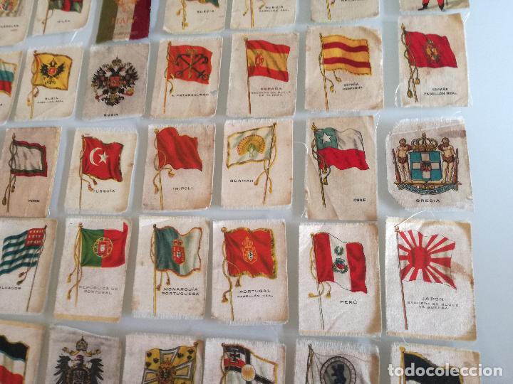 Carteles Feria: RARA COLECCION 157 CROMOS TELA - BANDERAS ANTIGUAS PAISES Y REINADOS - COMPAÑIA NACIONAL DE TABACOS - Foto 17 - 100585939