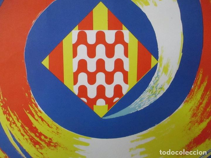 Carteles Feria: Gran Cartel - Ferias y Fiestas de San Narciso - Inmortal Gerona (Girona) - 70x100 - Año 1975 - Foto 3 - 100590671