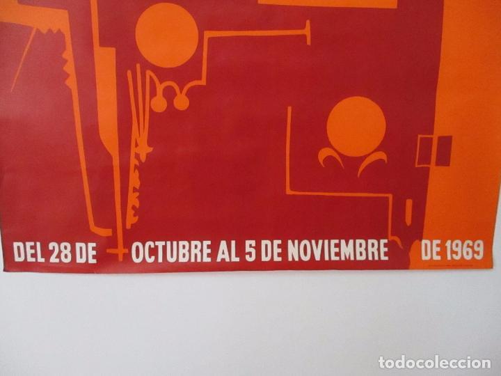 Carteles Feria: Gran Cartel - Ferias y Fiestas de San Narciso - Inmortal Gerona (Girona) - 68x100 - Año 1969 - Foto 7 - 100614987