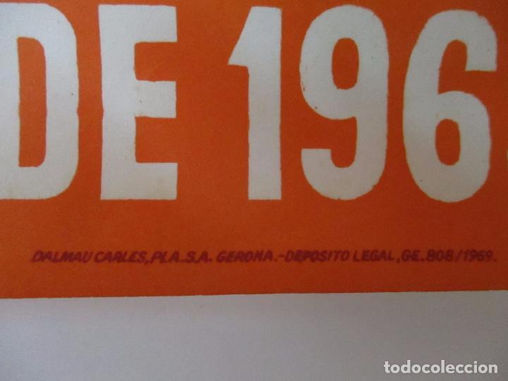 Carteles Feria: Gran Cartel - Ferias y Fiestas de San Narciso - Inmortal Gerona (Girona) - 68x100 - Año 1969 - Foto 9 - 100614987