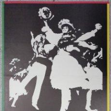 Carteles Feria: CARTEL BALLET GALLEGO REY DE VIANA FIESTAS DE LA MERCED 1981 LICEO BARCELONA. Lote 182846885