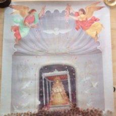 Carteles Feria: ALMONTE, HUELVA, 1997, CARTEL DE LA ROMERIA DEL ROCIO, HECHO POR MAIRELES, 60X80 CMS. Lote 101675087