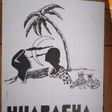 Carteles Feria: CARTEL HUAPACHÀ COMBO TERRASSA. 80*55 CM. Lote 101786731