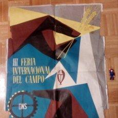 Carteles Feria: CARTEL LITOGRAFICO, ANTIGUO. AÑO 1956 1M X 69CM.EL ORIGINAL.JUAN JOSE MORALES,EDICOLOR.MADRID.. Lote 103171247