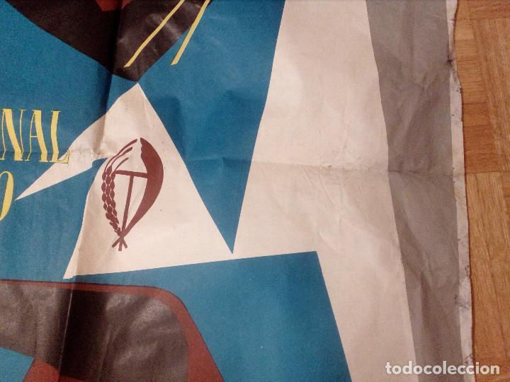 Carteles Feria: CARTEL LITOGRAFICO, ANTIGUO. AÑO 1956 1m x 69cm.EL ORIGINAL.JUAN JOSE MORALES,EDICOLOR.MADRID. - Foto 8 - 103171247