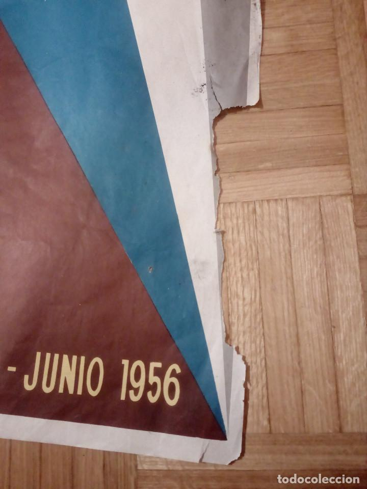 Carteles Feria: CARTEL LITOGRAFICO, ANTIGUO. AÑO 1956 1m x 69cm.EL ORIGINAL.JUAN JOSE MORALES,EDICOLOR.MADRID. - Foto 9 - 103171247