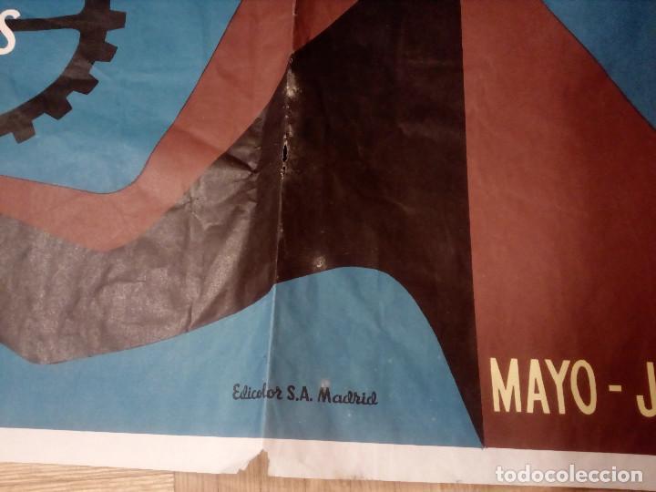 Carteles Feria: CARTEL LITOGRAFICO, ANTIGUO. AÑO 1956 1m x 69cm.EL ORIGINAL.JUAN JOSE MORALES,EDICOLOR.MADRID. - Foto 10 - 103171247