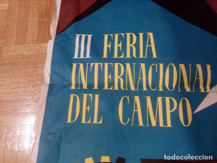 Carteles Feria: CARTEL LITOGRAFICO, ANTIGUO. AÑO 1956 1m x 69cm.EL ORIGINAL.JUAN JOSE MORALES,EDICOLOR.MADRID. - Foto 12 - 103171247