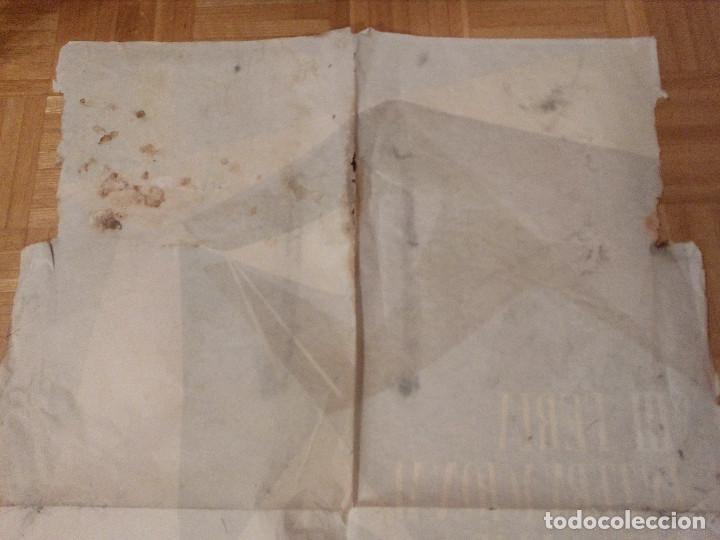 Carteles Feria: CARTEL LITOGRAFICO, ANTIGUO. AÑO 1956 1m x 69cm.EL ORIGINAL.JUAN JOSE MORALES,EDICOLOR.MADRID. - Foto 13 - 103171247