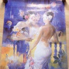 Carteles Feria: SEVILLA, 2004, CARTEL FIESTAS DE PRIMAVERA, 61X98 CMS. Lote 104864975