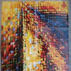 Carteles Feria: CARTEL FALLAS DE VALENCIA , 1974 , ILUSTRADOR PACO , ORIGINAL , B6. Lote 105195943