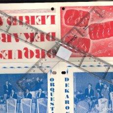 Affissi Fiera: ORQUESTA DEKAROS DE LERIDA . Lote 105832963