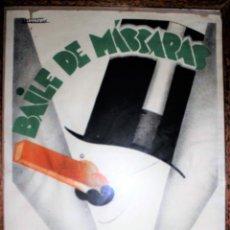 Carteles Feria: CARTEL LITOGRÁFICO J. MUNTANÉ. REAL CÍRCULO ARTÍSTICO DE BARCELONA GRAN TEATRO DEL LICEO, 1930 ÚNICO. Lote 108527455