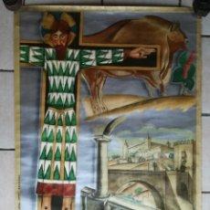 Carteles Feria: CARTEL EXPOSICIÓN INTERNACIONAL DE BARCELONA AÑO 1929. Lote 109530315