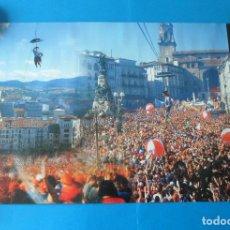 Carteles Feria: CARTEL DE LAS FIESTAS EN HONOR A LA VIRGEN BLANCA - VITORIA GASTEIZ. Lote 109550227