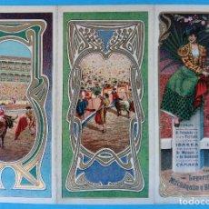 Carteles Feria: CARTEL PROGRAMA FERIAS FIESTAS Y TOROS , CARTAGENA MURCIA , 1906 , LITOGRAFIA ANTIGUA, ORIGINAL , H3. Lote 110131407