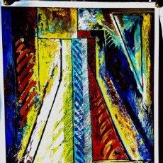 Carteles Feria: GERARD TITUS-CARMEL - GALERIE LE LONG, PARIS - 1989. Lote 110197963