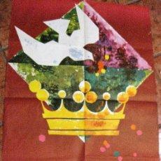 Carteles Feria: GRAN CARTEL FIESTAS DE LA MERCED BARCELONA AÑO 1961 . ORIGINAL . FESTES DE LA MERCÈ. Lote 111458291
