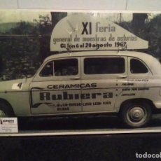 Carteles Feria: 39-FOTO-CARTEL FERIA INTERNACIONAL DE MUESTRAS DE GIJON, 1967, GRAN TAMAÑO. Lote 113370395