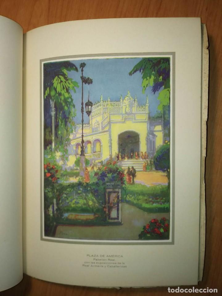 Carteles Feria: Album 23 carteles 31x24 Exposición Ibero Americana Sevilla 1929-1930 - Foto 5 - 113744467