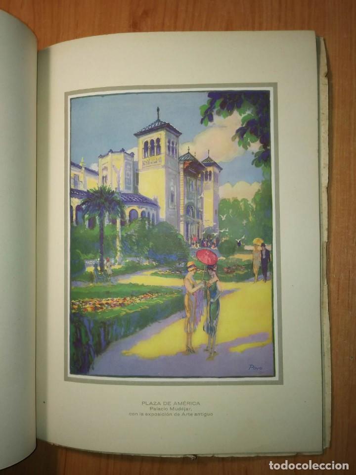 Carteles Feria: Album 23 carteles 31x24 Exposición Ibero Americana Sevilla 1929-1930 - Foto 6 - 113744467